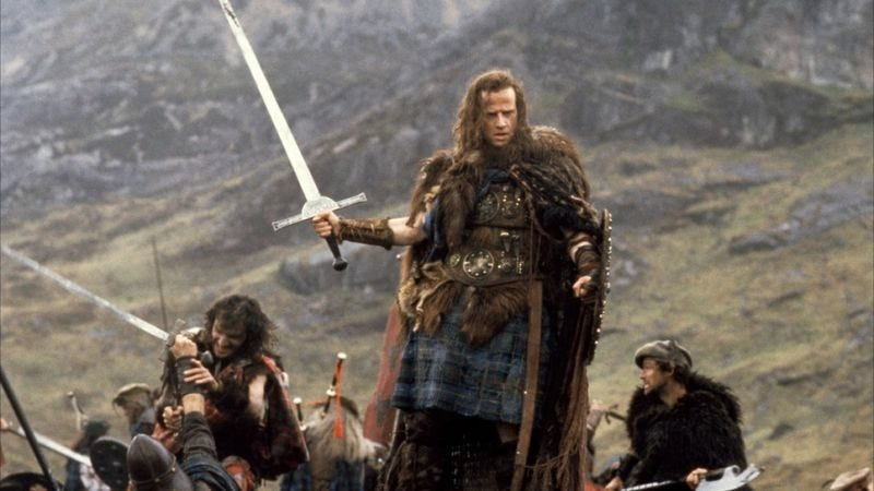 Illustration for article titled There can be only one guy to direct the Highlander reboot, again