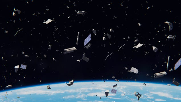 Earth s Low Orbit Needs Legal Protection Before It Becomes a Cosmic Junkyard
