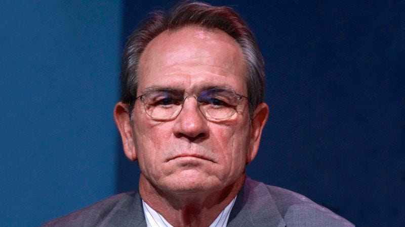 Illustration for article titled Tommy Lee Jones Tells Jimmy Fallon He Doesn't Want To Play Any Of His Little Fucking Games