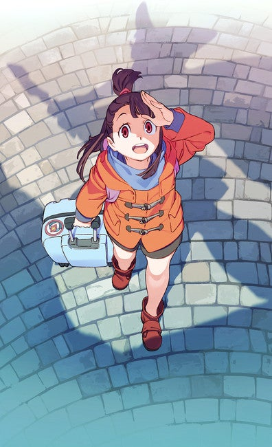 Illustration for article titled Here it is the newest Teaser of Little Witch Academia