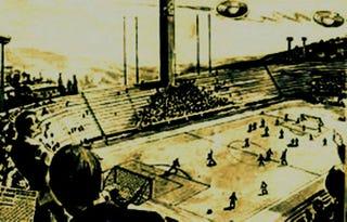 Illustration for article titled Tudtad, hogy ufók miatt is szakadt már félbe focimeccs?
