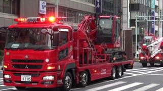 Tokyo Fire Department Cranes