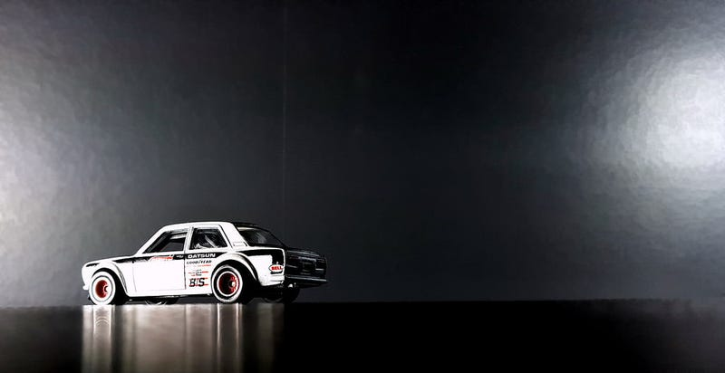 Illustration for article titled LaLD Car Week: A white Datsun