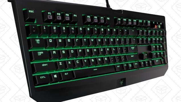 Razer s BlackWidow Ultimate Packs In Genuine Cherry MX Blue Switches For $50