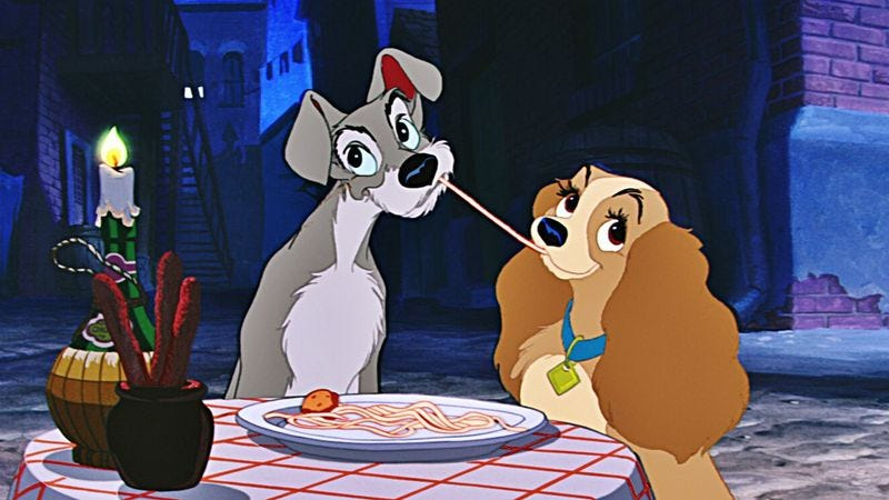 Lady And The Tramp is Walt Disneys most grownup film