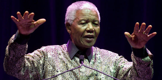 Nelson Mandela (Torsten Blackwood/AFP/Getty Images)