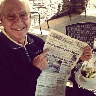 Illustration for article titled Here Is Some Very Important News About Dick Vitale