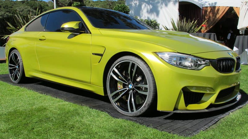 Illustration for article titled Stop And Stare At The Gorgeous BMW M4 Concept
