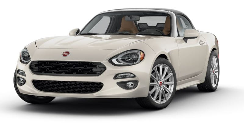 Illustration for article titled How Would You Spec Your 2017 Fiat 124 Spider?