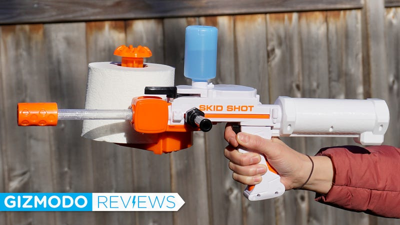 The Super Soaker For Spitballs Is the Perfect Toy For