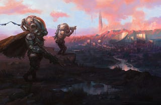 Illustration for article titled The Scouts Found The City By Following The Floating Rocks