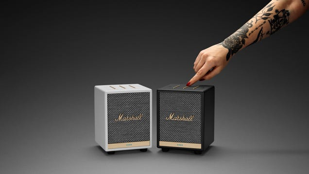 Marshall s New Itty Bitty Smart Speaker Packs Big Sound