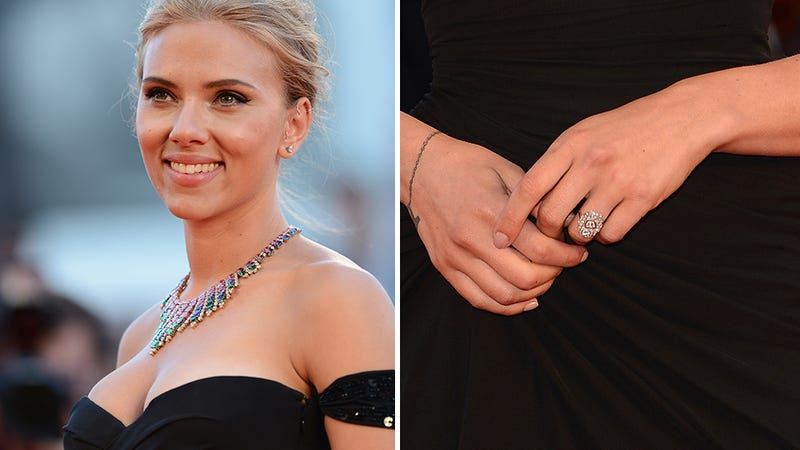 Illustration for article titled Scarlett Johansson Engaged to Stone Fox French Journalist