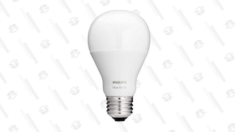 Philips Hue White Single Bulb | $10 | Woot
