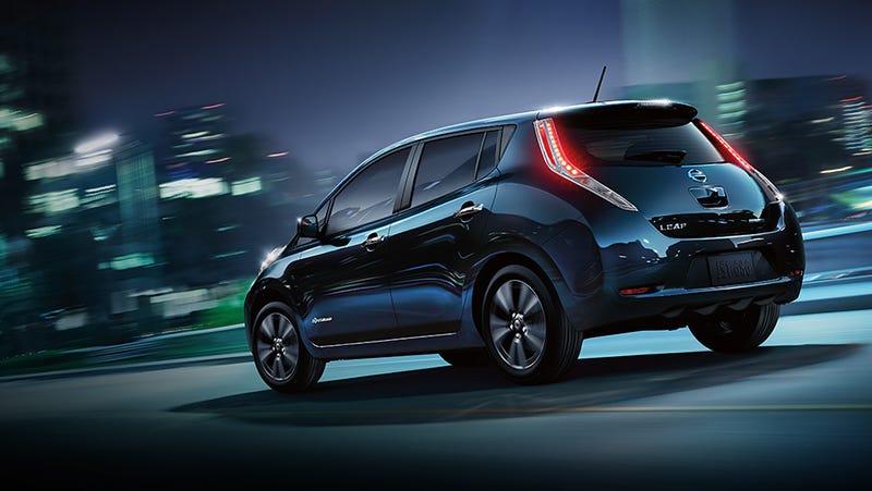 Illustration for article titled Could You Imagine a Nissan Leaf Sedan?!?!
