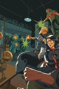 Illustration for article titled Multiversity:Society of Super-Heroes