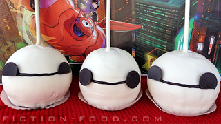 Illustration for article titled These Caramel Apples are as sweet as Baymax Himself