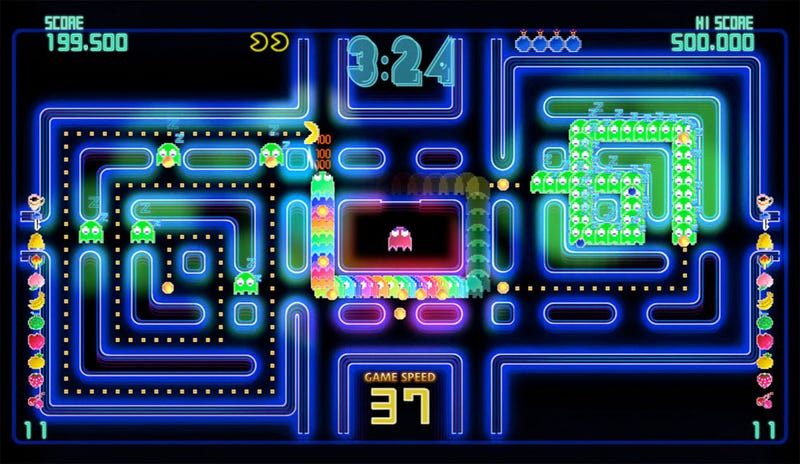 Illustration for article titled Review: Pac-Man Championship Edition DX Is A Spirited Thrill