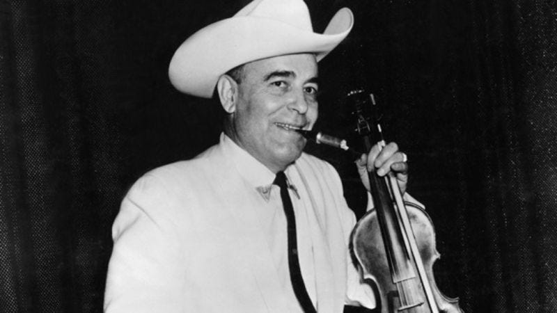 Illustration for article titled Week 10: Bob Wills, King Of Texas, Father of Western Swing