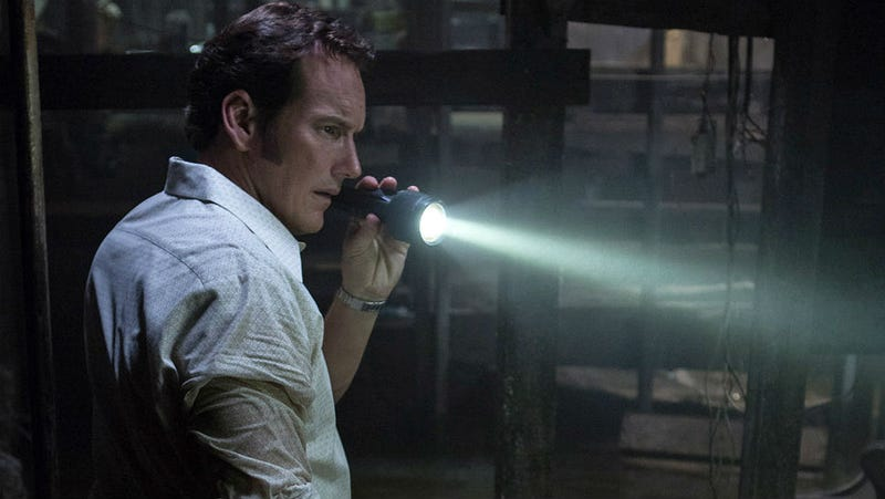 Patrick Wilson is Ed Warren in The Conjuring 2. All images: Matt Kennedy.
