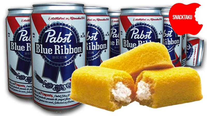 Illustration for article titled Raise a Glass of Pabst Blue Ribbon to the Savior of the Twinkie