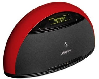 Illustration for article titled Ferrari-Branded Audio System Has Ferrari-esque Price Tag