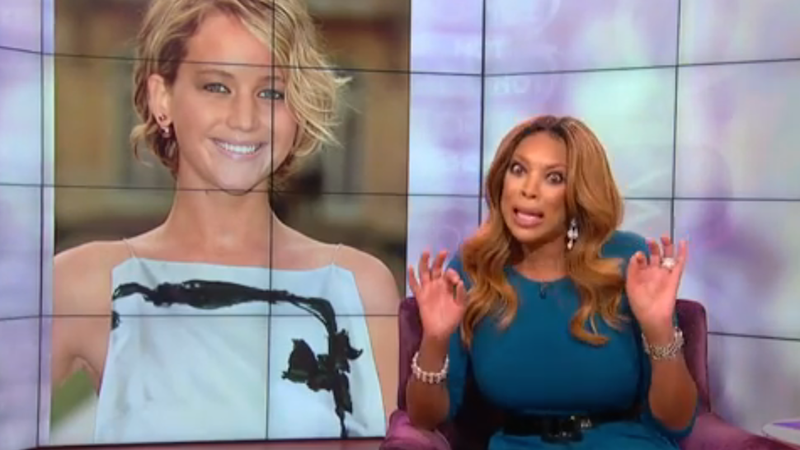 Illustration for article titled Wendy Williams Wants Jennifer Lawrence to Shut Up About Her Nude Pics