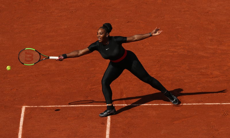 Illustration for article titled Did Serena Williams's French Open Catsuit Make The French Tennis Federation President Too Horny?