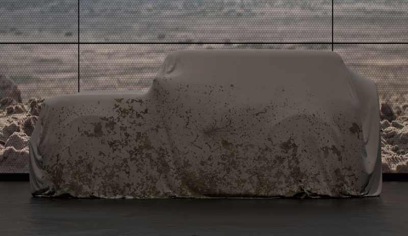 Illustration for article titled This Teaser Means The Ford Bronco Might Look Like The Boxy Off-Roader It Deserves To Be