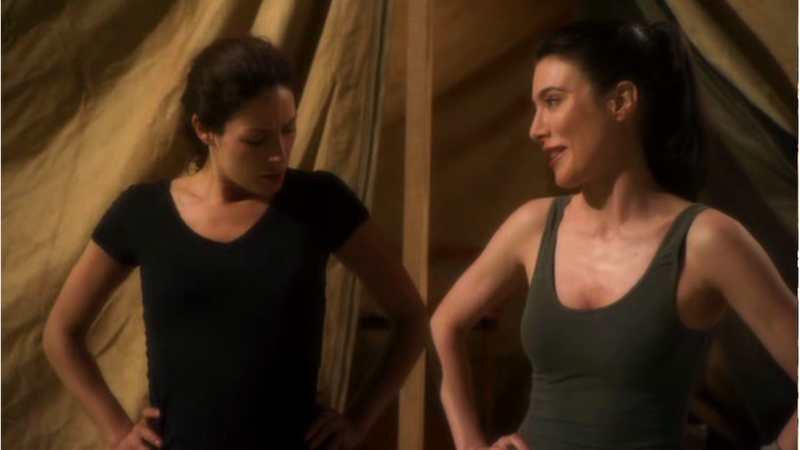 """Illustration for article titled Warehouse 13's Joanne Kelly: """"I would love"""" to see H.G. Wells and Myka get together"""