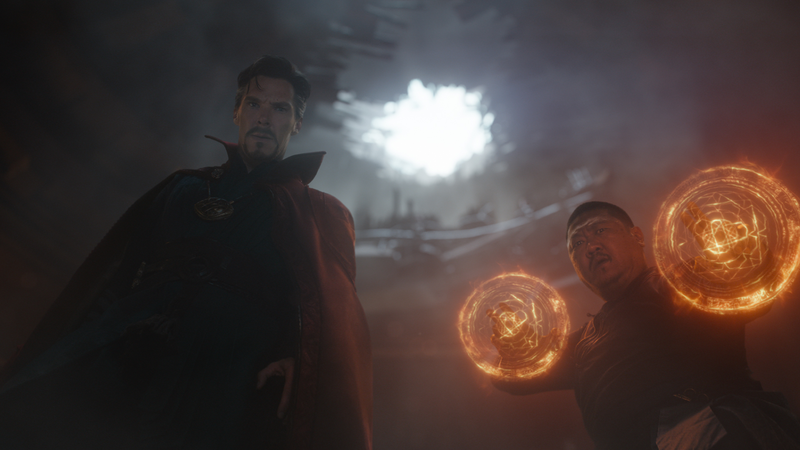 Cumberbatch as Doctor Strange.