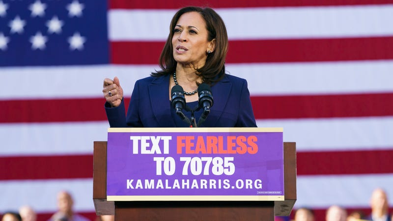 Illustration for article titled Kamala Harris Is All in on the Green New Deal