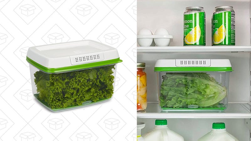 Rubbermaid FreshWorks Produce Saver Food Storage Container | $8 | Amazon