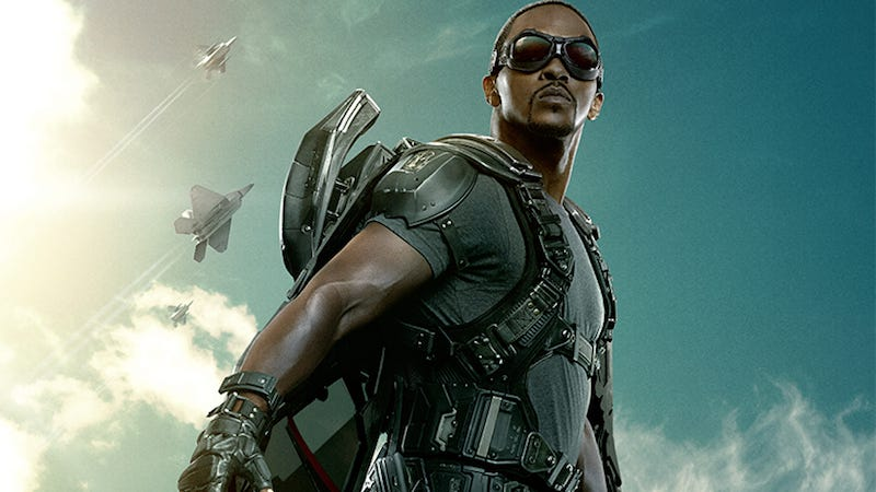 Illustration for article titled Anthony Mackie Discovered He Was an Avenger at the Age of Ultron Premiere