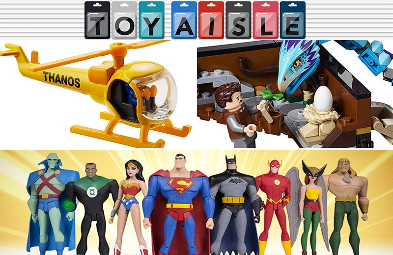 Illustration for article titled The Animated Justice League Assembles, and More of the World's Finest Toys of the Week