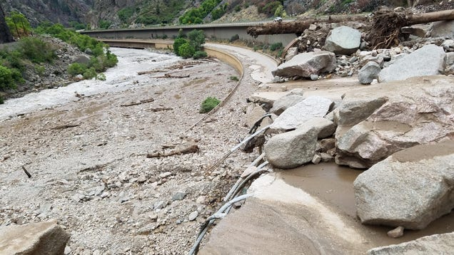 Colorado Flash Flood Shuts Down Highway Due to Damage 'Unlike Anything' Seen Before