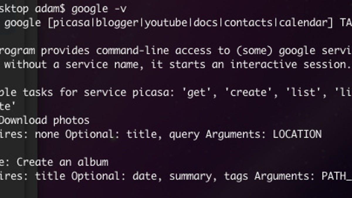 5 Useful Google Command Line Tricks