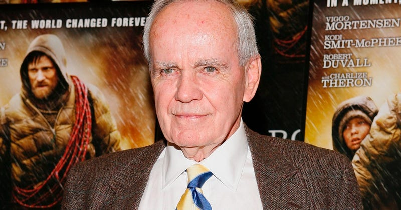 Photo of Cormac McCarthy at the premiere of The Road (Getty Images)