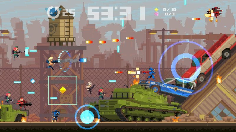 Illustration for article titled Super Time Force's temporal tinkering reinvigorates a classic formula