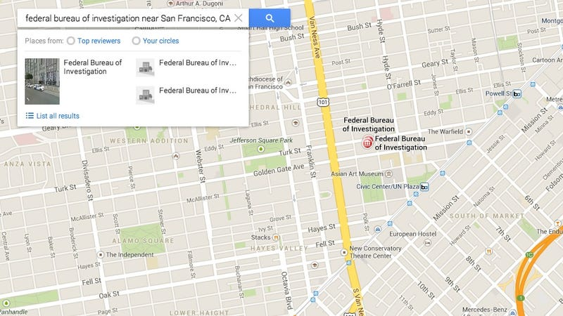 Illustration for article titled FBI and Secret Service Phone Calls Intercepted by Google Maps Exploit