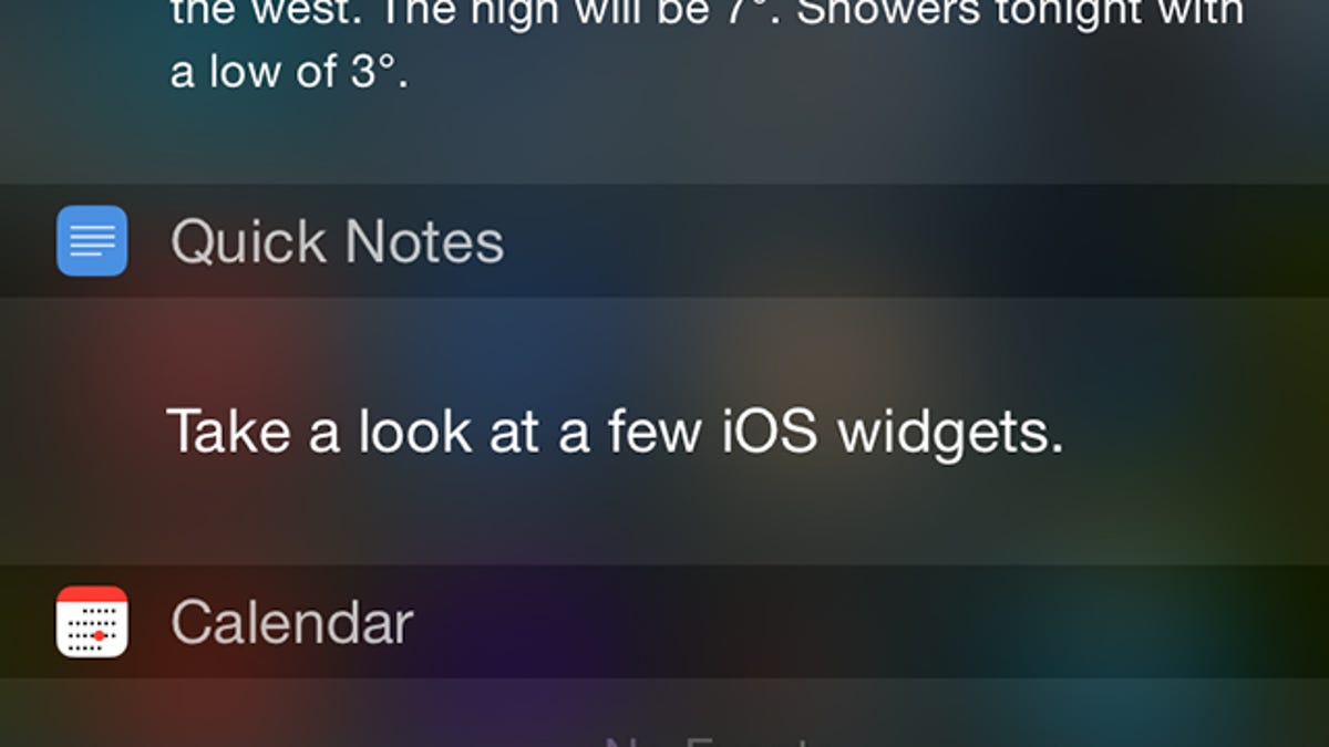Calendario Android Widget.12 Essential Ios Widgets For A More Functional Notification