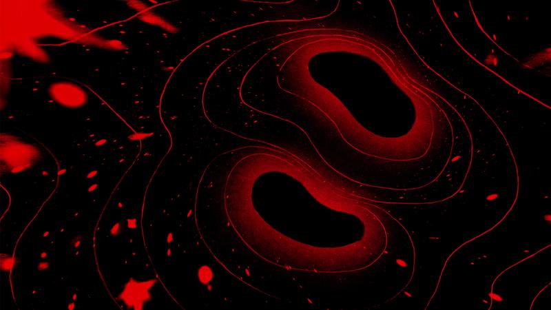 Illustration for article titled Qué ocurre cuando dos agujeros negros chocan entre sí