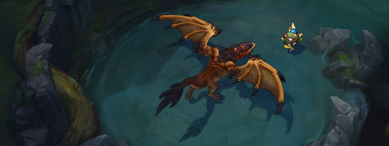 Illustration for article titled Worlds Shoutcasters Have A Funny Theory About League's Dragons