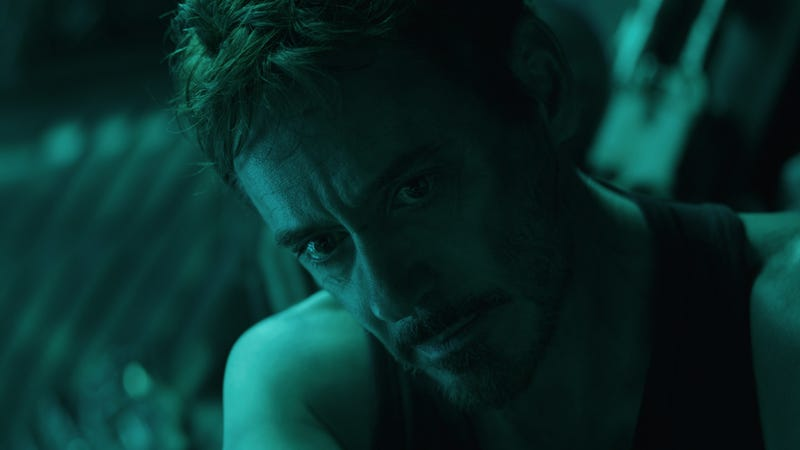 Illustration for article titled Tony Stark's big Avengers: Endgame moment wasn't in the script