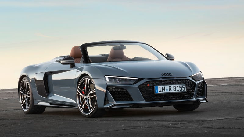 the v6 audi r8 is not happening