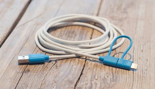 Illustration for article titled Get 47% Off The 6ft Certified iOS + Android Convertible Charging Cable
