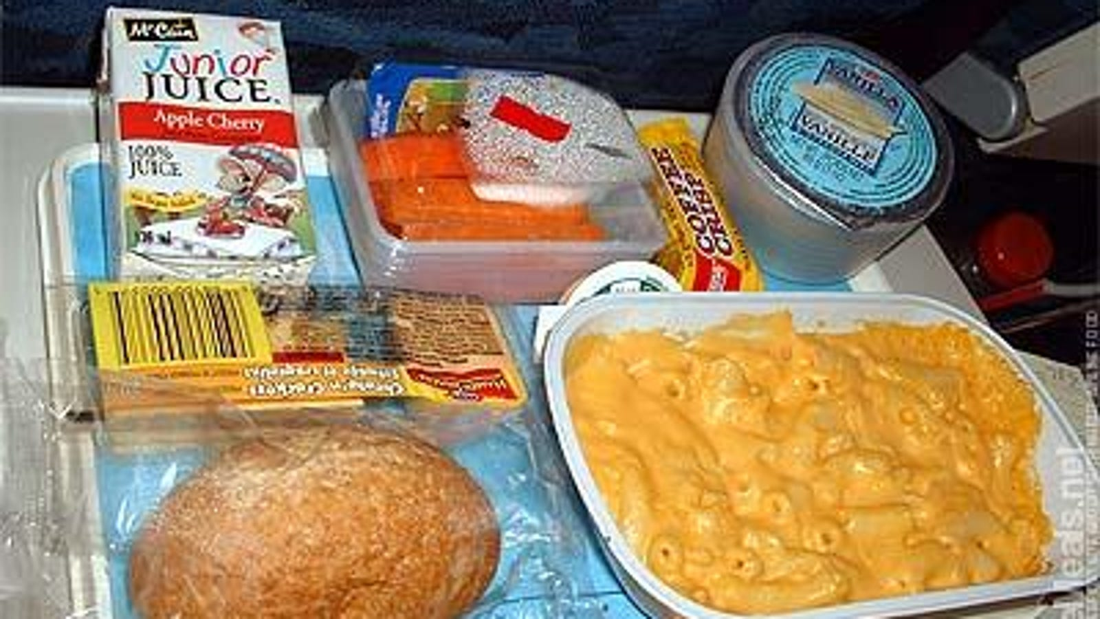 Airlines Fight Over Who Can Offer the Least Disgusting Food