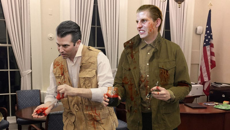 Illustration for article titled Homemade DNA Test Proves Trump Boys Are At Least One Jar Blood
