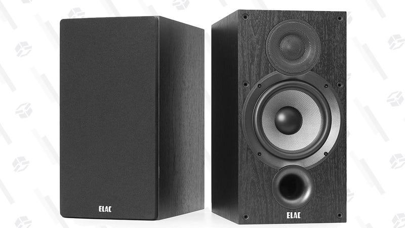 ELAC Debut 2.0 B6.2 Speaker Pair | $250 | Amazon
