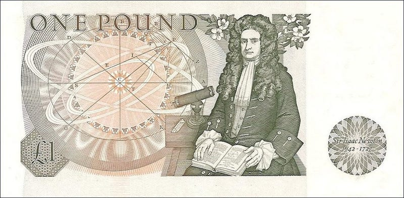 Illustration for article titled Newton maths book adds up the moolah